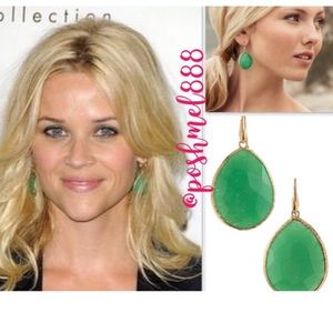 :: Stella & Dot Jade Serenity Drop Earrings